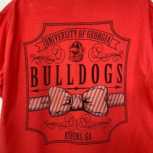Comfort Colors Shirts - Red Georgia Bulldogs T-Shirt